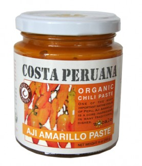 Aji Amarillo Organic Chili Paste