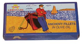 Arroyabe Anchovies in Olive Oil (Spain)