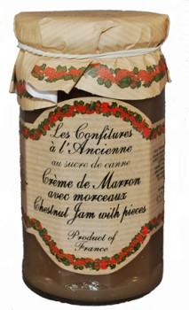 Chestnut Cream Jam with Chestnut Pieces (Les Confitures à l'Anciennes)