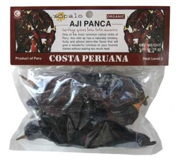 Aji Panca Organic Chili Pods (dried)