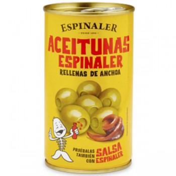 Anchovy Stuffed Manzanilla Olives (Espinaler)