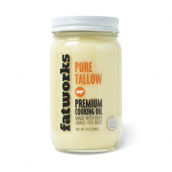 Beef Tallow Grass Fed (FatWorks)