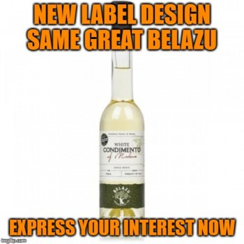 Belazu White Balsamic Expressing Interest at $30