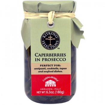 Caperberries in Prosecco (Casina Rossa)