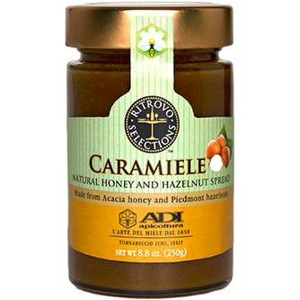 Caramiele Natural Honey & Hazelnut Spread (ADI)