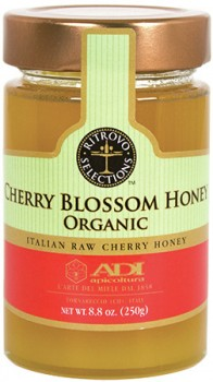 Cherry Blossom Raw Honey - Organic (ADI)
