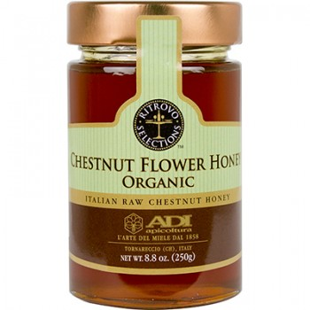 Chestnut Flower Raw Honey - Organic (ADI)