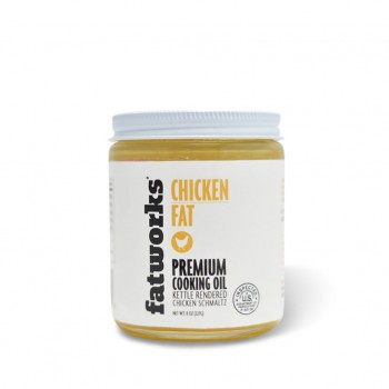 Chicken Fat/Schmaltz (Organic) (FatWorks)