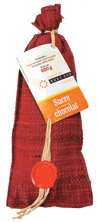 Quai Sud Naturally Flavored Pure Demerara Cane Sugar (Chocolate)