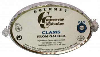 Almejas Clams from Galicia (Conservas de Cambados)