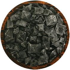 Cyprus Black Lava Mediterranean Sea Salt Flakes