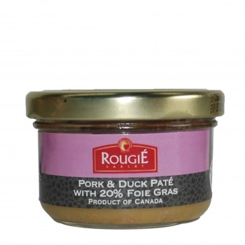 Pork & Duck Terrine with 20% Foie Gras (Rougie)