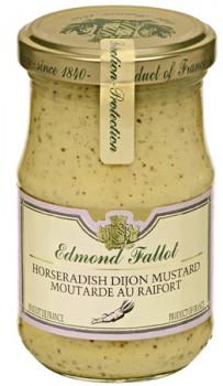 Horseradish Dijon Mustard (Edmond Fallot)