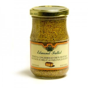 Honey & Gingerbread Dijon Mustard (Edmond Fallot)