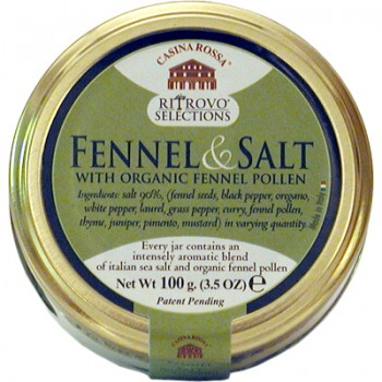 Fennel & Salt with Organic Fennel Pollen