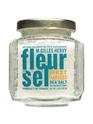 Fleur de Sel Sea Salt by M. Gilles Hervy