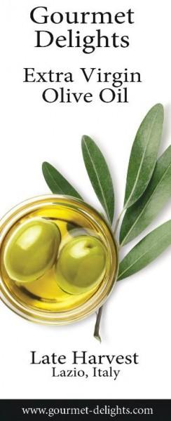 Gourmet Delights Late Harvest Extra Virgin Olive Oil (Lazio)