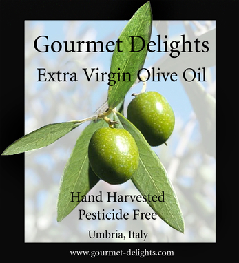 Gourmet Delights Extra Virgin Olive Oil (Umbria)