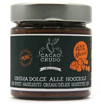 Hazelnut Spread with Raw Cacao (Organic)