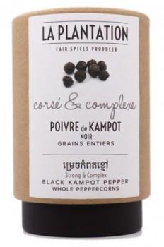 Kampot Organic Black Peppercorns (Tube)