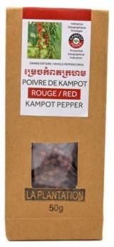 Kampot Red Peppercorns (Organic)