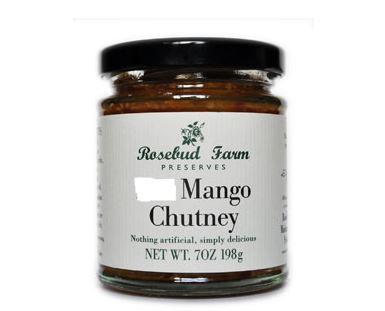 Mango Chutney (Rosebud Farm)