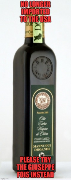 Mannucci Droandi Organic DOP Extra Virgin Olive Oil