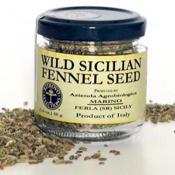 Marino Organic Wild Sicilian Fennel Seed (Dried)