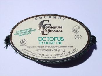 Pulpo Octopus in Olive Oil (Conservas de Cambados)