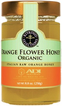 Orange Flower Raw Honey - Organic (ADI)