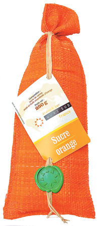 Quai Sud Naturally Flavored Pure Demerara Cane Sugar (Orange)