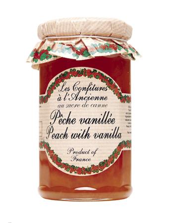 Peach-Vanilla Jam (Les Confitures à l'Anciennes)