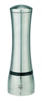 Mahe uSelect Pepper Mill - Stainless Steel (21 cm) (Peugeot)