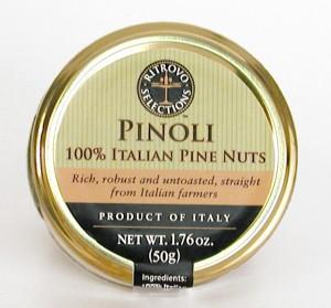 Pinoli 100% Italian Pine Nuts