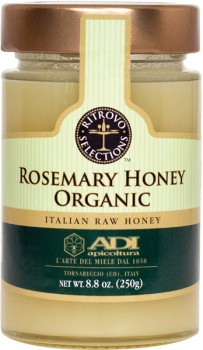 Rosemary Raw Organic Honey (ADI)