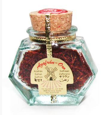 Saffron from La Mancha - 3 grams (Azafrán-Oro)
