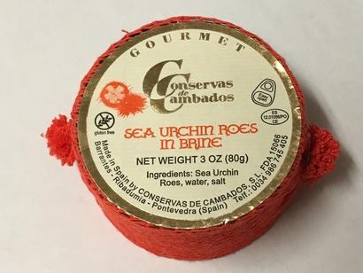 Sea Urchin Roe in Brine (Conservas de Cambados)