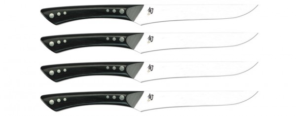 Shun Shima 4-piece Steak Knife Set (DMS430)