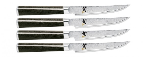 Shun Classic 4-piece Steak Knife Set (DMS400)
