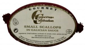 Zamburinas Small Scallops in Galician Sauce (Conservas de Cambados)