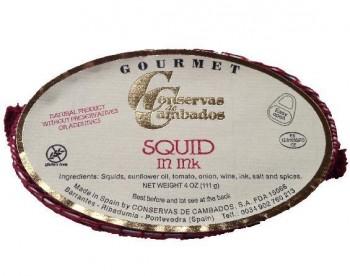 Chipirones en su Tinta Squid in Ink (Conservas de Cambados)