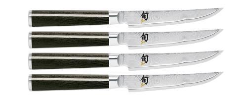 Shun Classic 4 piece Steak Knife Set (DMS400)