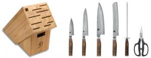 Shun Premier 7-Piece Essential Block Set (TDMS0700)