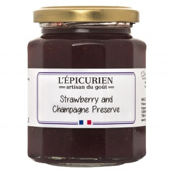Champagne & Strawberry Jam (L'Epicurien)