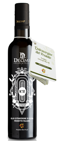 Decimi No 51 Limited Edition Slow Food Presidio Extra Virgin Olive Oil (Umbria)